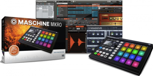 Native Instruments Maschine Mikro Mk2 Blk фото 3