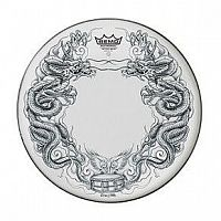 REMO TT-0814-AX-T06 Batter, 14` Diameter, `Dragon Skyn` Graphic