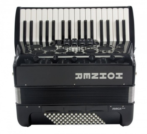 HOHNER Amica Forte III 72 Black (A38621)
