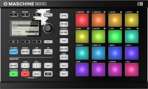 Native Instruments Maschine Mikro Mk2 Blk фото 5